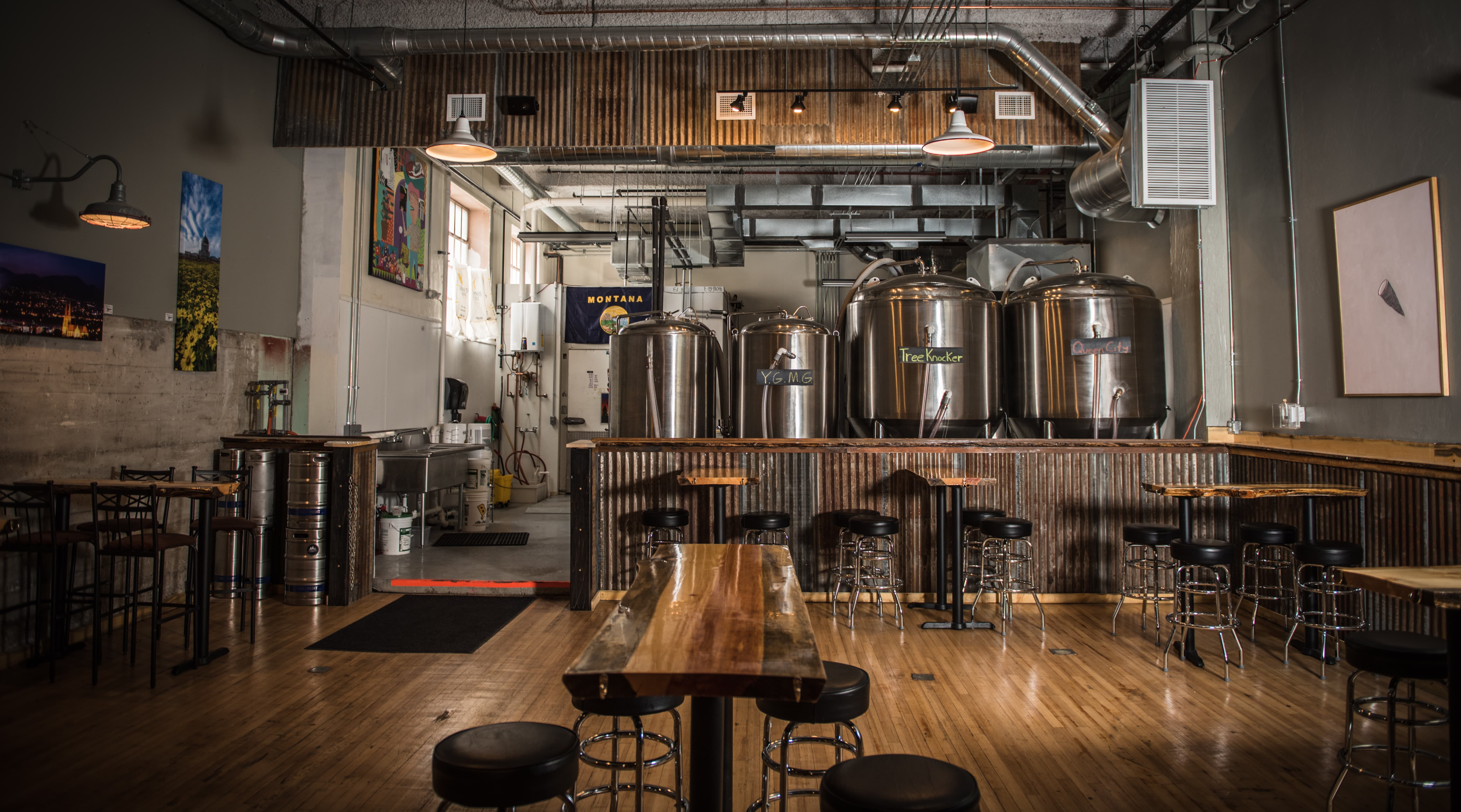 ten mile creek brewing a somewhat organized community